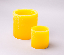 yellow-candle